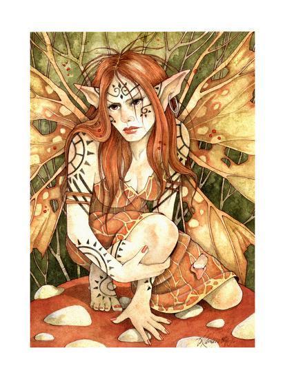 Firestarter-Linda Ravenscroft-Giclee Print