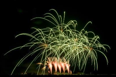 Fireworks at Havasu I-George Johnson-Photographic Print