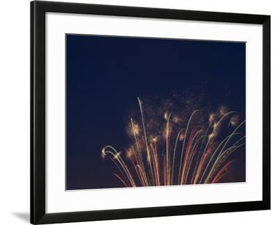 Fireworks Celebrating the 4th of July, Miami, Florida, USA-Angelo Cavalli-Framed Photographic Print