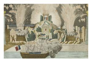 Fireworks Given in Paris at the Marriage of Napoleon
