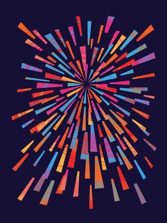 Fireworks-Joe Van Wetering-Art Print
