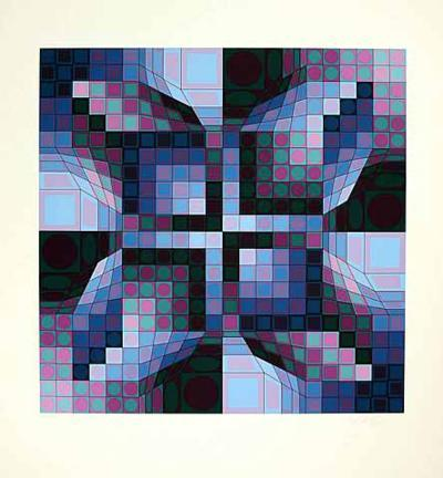 Firka-Victor Vasarely-Limited Edition