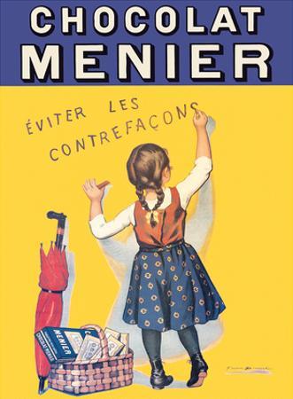 Chocolat Menier - Éviter Les Contrefaçons (Beware of Imitation) - French Chocolate Company