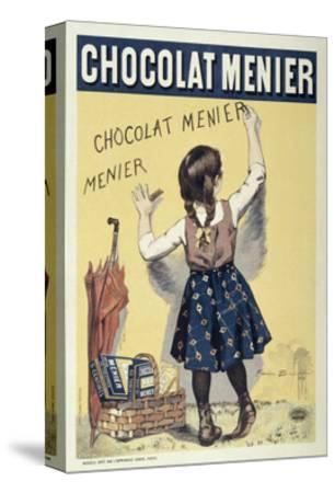 Poster Advertising Chocolat Menier, 1893