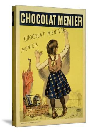 """Reproduction of a Poster Advertising """"Menier"""" Chocolate, 1893"""