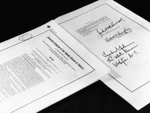 First and Last Pages of the 1968 Civil Rights