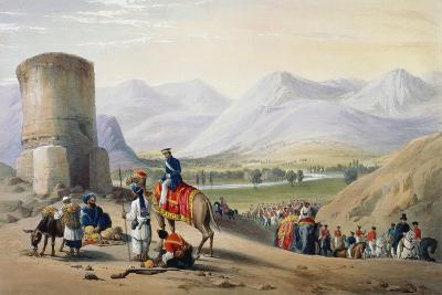First Anglo-Afghan War 1838-1842-James Atkinson-Giclee Print