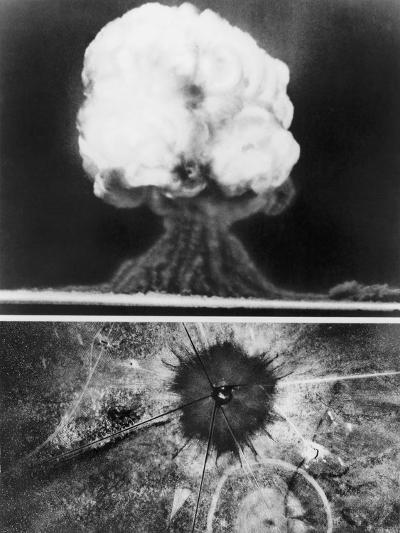 First Atomic Bomb, 1945--Giclee Print