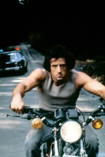 First Blood 1982 Directed by Ted Kotcheff Sylvester Stallone--Photo