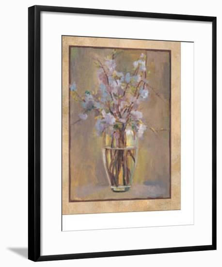First Blossoms II-Eliza Read-Framed Art Print