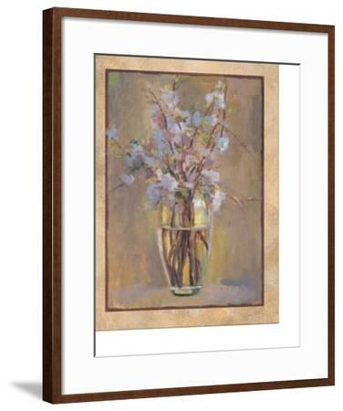 First Blossoms II-Eliza Read-Framed Art Print
