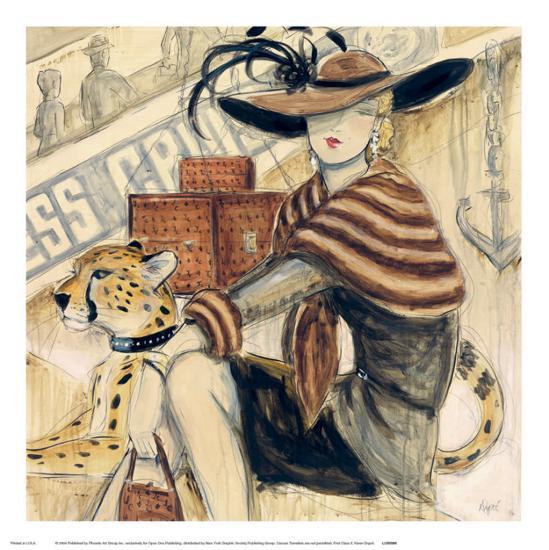 First Class II-Karen Dupr?-Art Print