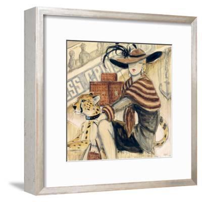 First Class II-Karen Dupr?-Framed Art Print