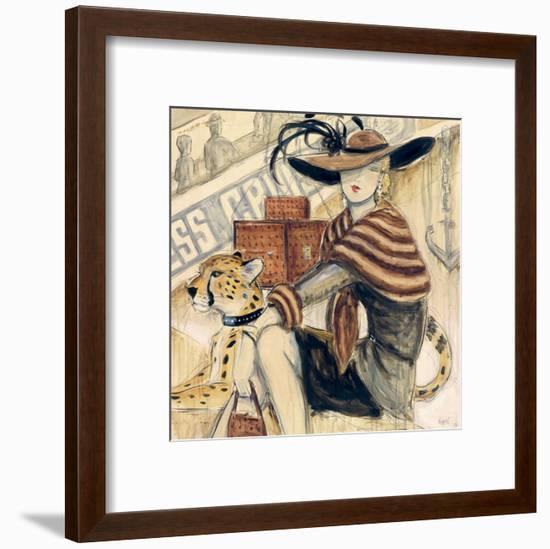 First Class II-Karen Dupré-Framed Art Print
