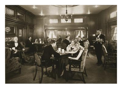 First Class Lounge, Scythia, 20th Century (Photo)--Giclee Print