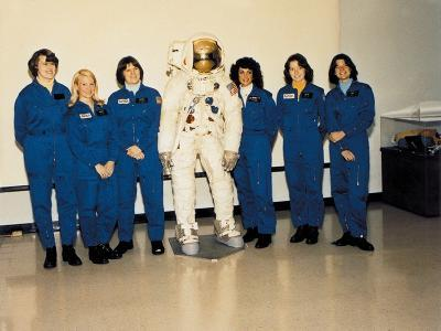 First Class of Female Astronauts Who Completed Training in 1979--Photo