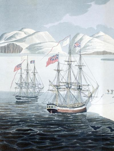 First Communication with the Natives of Prince Rupert Island-John Sackheouse-Giclee Print