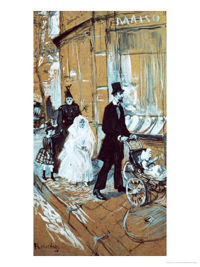 First Communion Day, 1888-Henri de Toulouse-Lautrec-Giclee Print