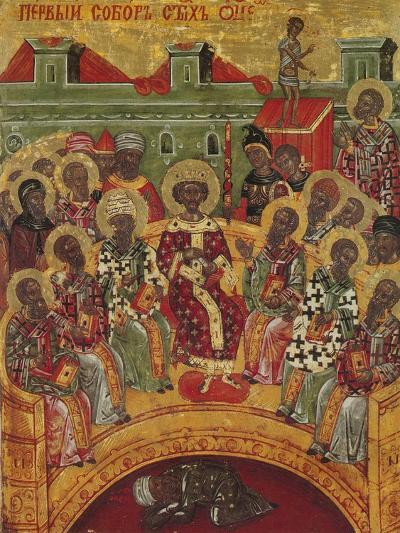 First Council of Nicaea, 16th Century--Giclee Print