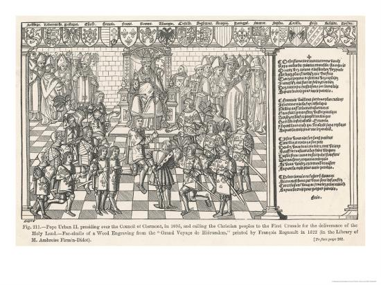 First Crusade-Regnault Grand-Giclee Print