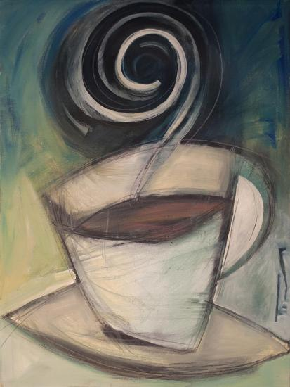 First Cup of the Day-Tim Nyberg-Premium Giclee Print