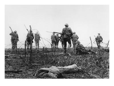 First day of Battle of the Somme July 1st 1916--Giclee Print