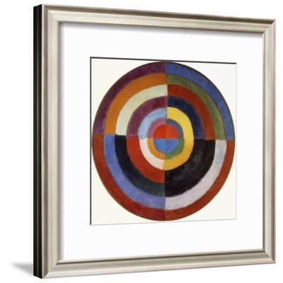 First Disc, 1912-Robert Delaunay-Framed Giclee Print