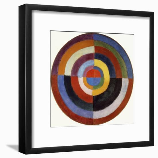 First Disc, 1912-Robert Delaunay-Framed Giclee Print
