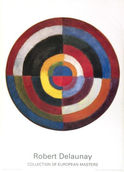 First Disc-Robert Delaunay-Art Print