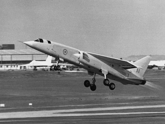 First Flight of Bac Tsr.2--Photographic Print