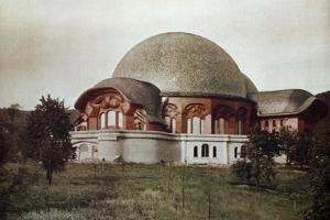 First Goetheanum, Front (Sout) View, Dornach, Switzerland, 1922