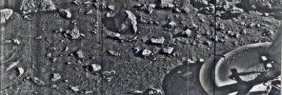 First Image Taken from the Surface of Mars by the Viking 1 Lander on July 20, 1976