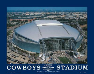 First Inaugural Game, Cowboys Stadium, Arlington, Texas, September 20,2009--Art Print