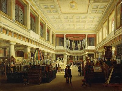 First Industrial Exhibition in Naples in Sala Tarsia in 1854-Salvatore Fergola-Giclee Print