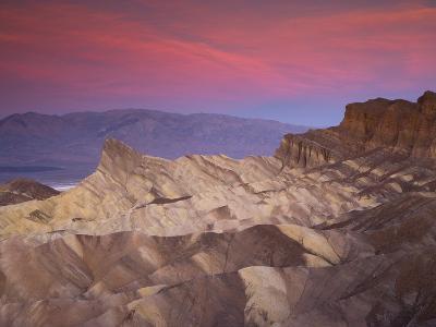 First Light on Zabriskie Point, Death Valley National Park, California, USA-Darrell Gulin-Photographic Print