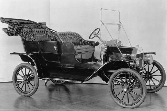 First Model T Ford--Photographic Print