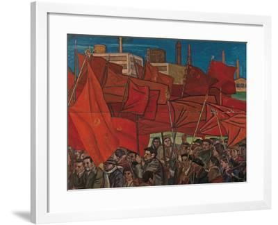 First of May-Emilio Notte-Framed Giclee Print
