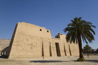 First Pylon, Medinet Habu (Mortuary Temple of Ramses Iii), West Bank-Richard Maschmeyer-Photographic Print