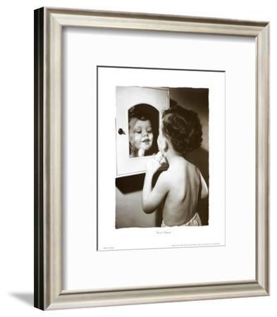 First Shave--Framed Art Print