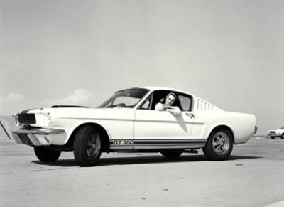 First Shelby Mustang GT350