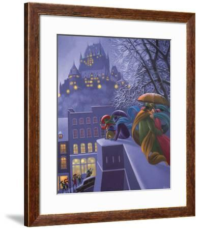 First Snow-Claude Theberge-Framed Art Print