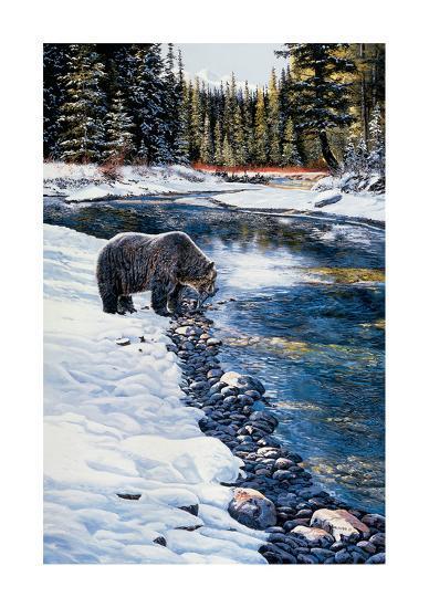 First Snow-Andrew Kiss-Art Print