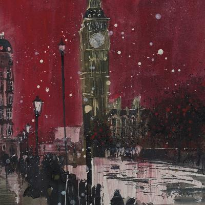 First Snows Of Winter Big Ben Giclee Print By Susan Brown Art Com