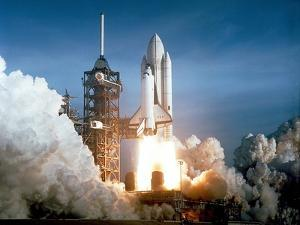First Space Shuttle Launch on April 12, 1981