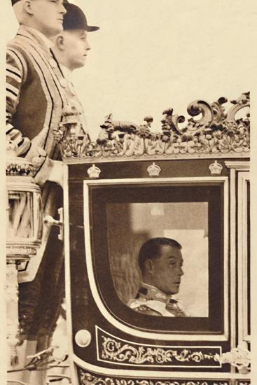 'First State Drive as Monarch', 1937-Unknown-Photographic Print