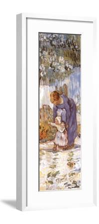 First Steps-Vincent van Gogh-Framed Art Print
