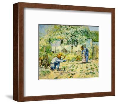 First Steps-Vincent van Gogh-Framed Giclee Print