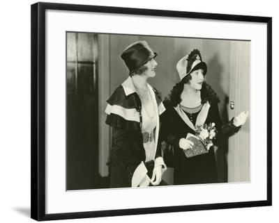 First to Arrive--Framed Photo