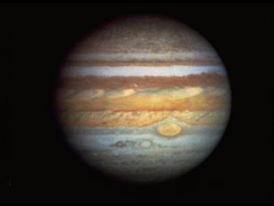 First True-Color Photo of Planet Jupiter Taken from Hubble Space Telescope--Photographic Print