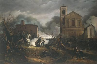 First War of Independence - Novara, Battle of Bicocca, 23 March 1849--Giclee Print